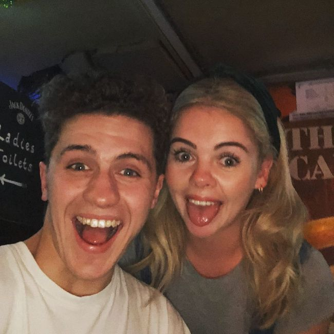 Dylan as seen with Saoirse-Monica Jackson in 2020