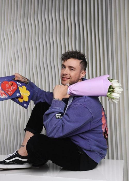 Egor Kreed as seen in an Instagram Post in February 2021