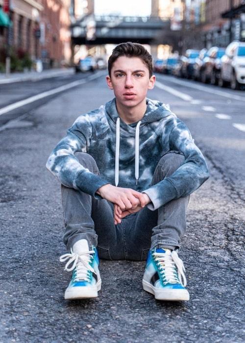 Eitan Bernath as seen in a picture that was taken in Chelsea in March 2020
