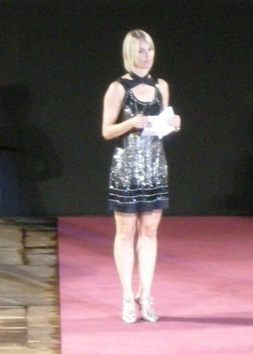 Ellen Hidding as seen in a picture that was taken during the Taormina film festival in 2009