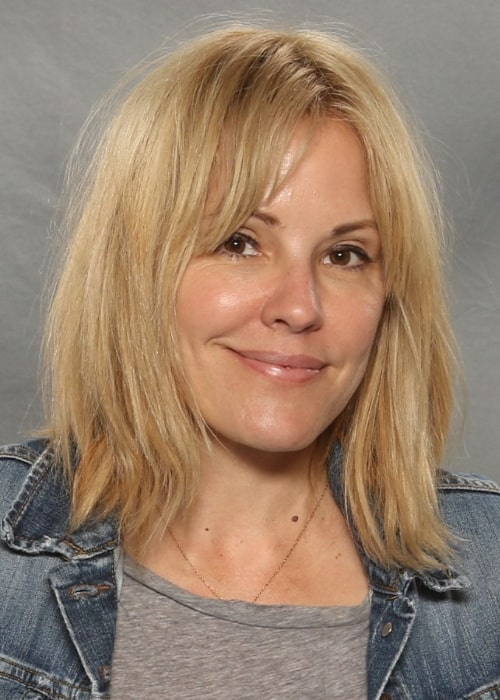 Emma Caulfield pictured at the Raleigh Supercon in 2017