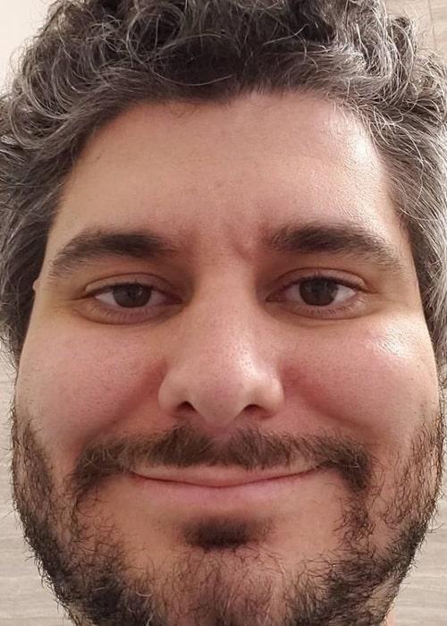Ethan Klein as seen in a selfie that was taken in July 2019