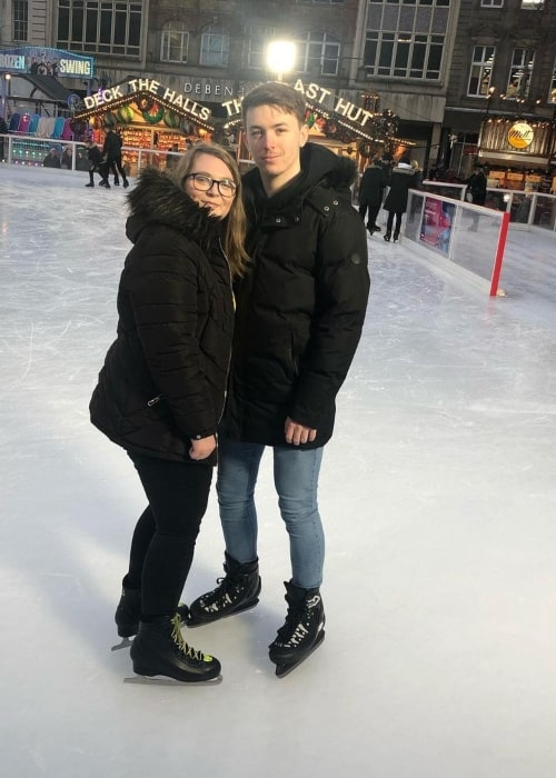 FactionsRaven as seen in a picture that was taken with his beau Demi in Winter Wonderland Nottingham in December 2019