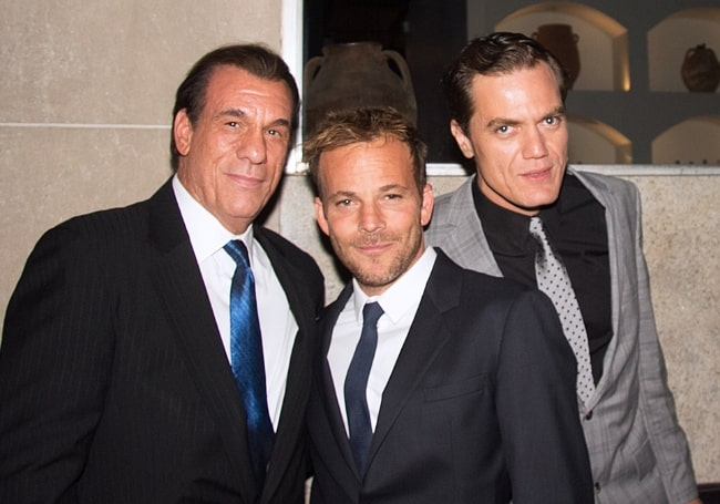 From Left to Right - Robert Davi, Stephen Dorff, and Michael Shannon at the 2012 Toronto International Film Festival