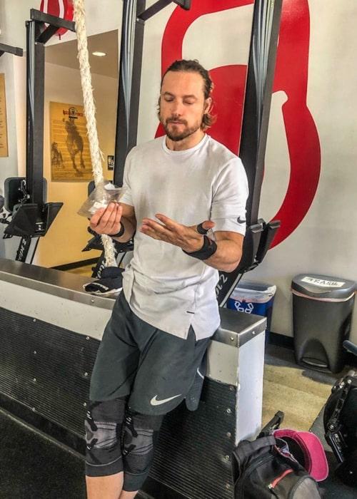 Gabriel Aubry as seen in an Instagram Post in October 2019