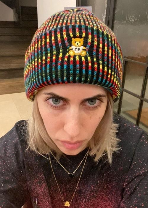 Hila Klein as seen in a selfie that was taken in January 2021