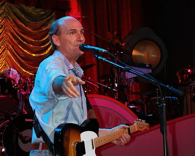 James Taylor opening the holiday weekend with concerts on July 3rd and 4th at Tanglewood in Lenox, Massachusetts in 2008