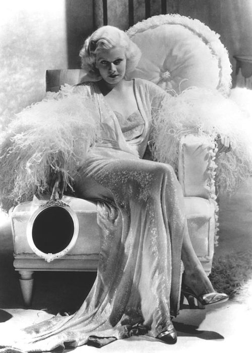 Jean Harlow as seen on the cover of Time Magazine in 1935