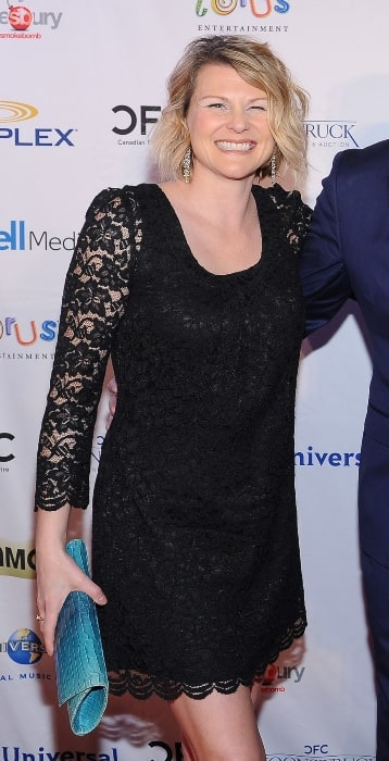 Jennifer Robertson in February 2016