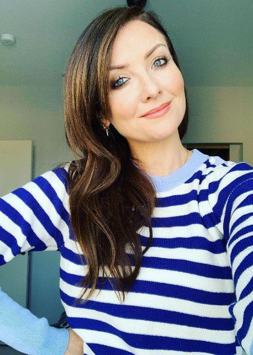 Jennifer Zamparelli as seen in a selfie in 2021