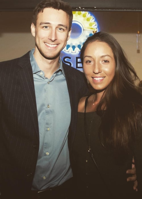 Jessica Pegula and Taylor Gahagen, as seen in February 2019