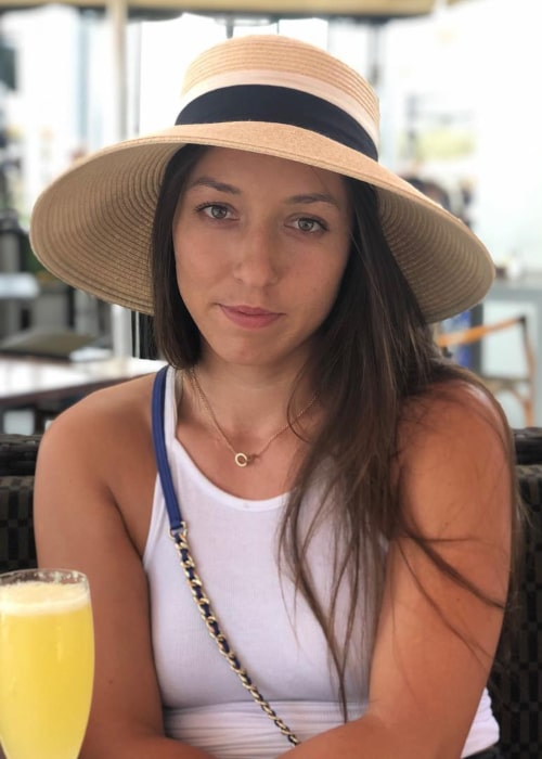 Jessica Pegula as seen in an Instagram Post in January 2019