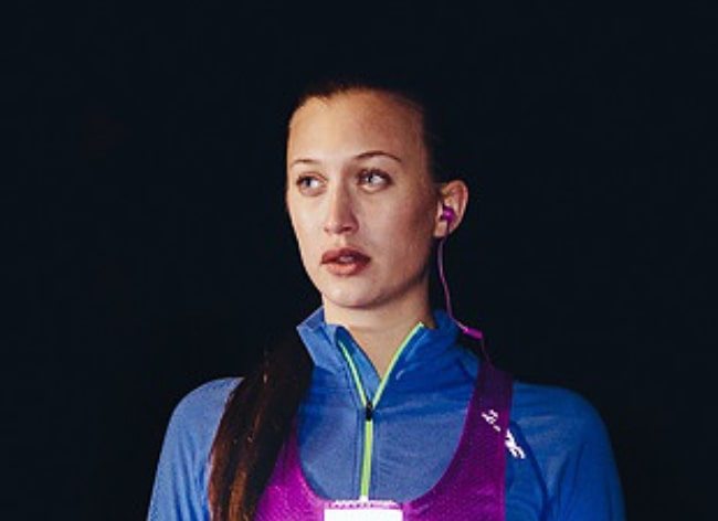 Julia Ragnarsson as seen in an advertising campaign for Stadium in March 2014