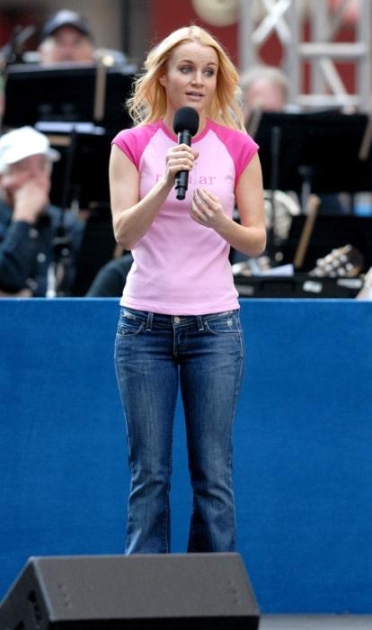 Kate Reinders at Broadway on Broadway in 2006
