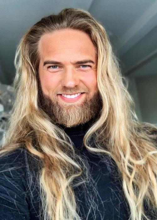 Lasse Lokken Matberg as seen in a selfie that was taken in Drammen, Norway in May 2020