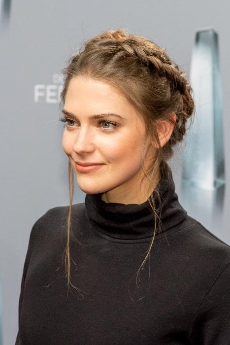 Laura Berlin pictured at the 2018 Deutscher Fernsehpreis ceremony