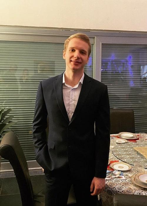 Marcin Jankowski as seen in a picture that was taken in December 2020