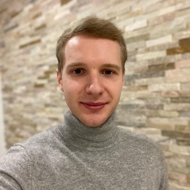 Marcin Jankowski as seen in a selfie that was taken in December 2020