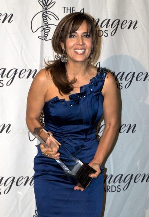 Maria Canals-Barrera at the 2010 Imagen Foundation Awards
