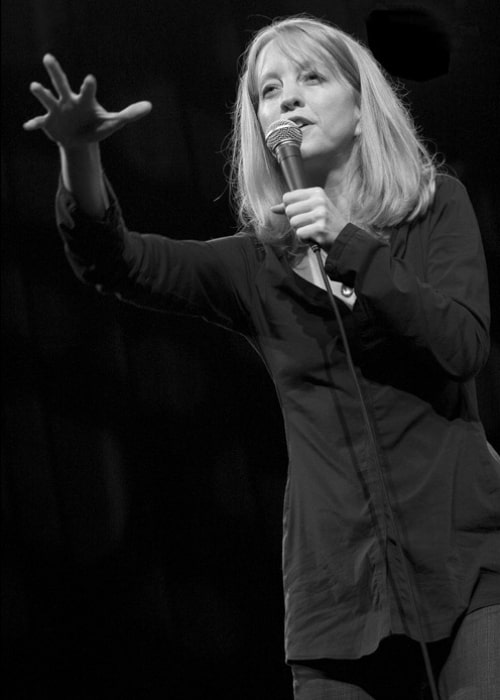 Maria Schneider as seen in a picture that was taken at the North Sea Jazz festival, 2008