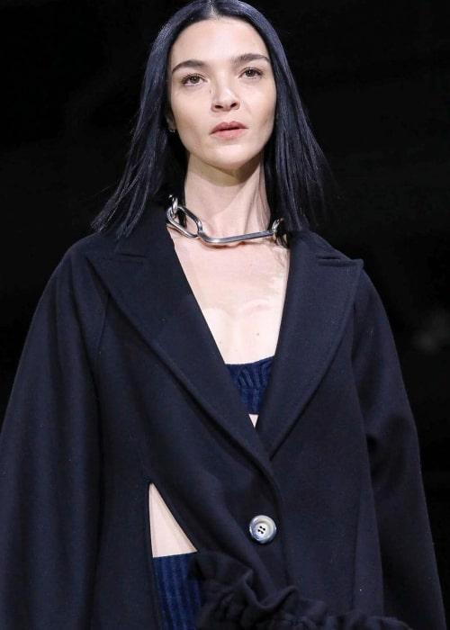 Mariacarla Boscono as seen in an Instagram Post in February 2020