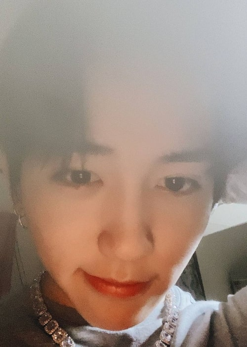 Mashiho as seen in a selfie that was taken in sometime in the year 2021