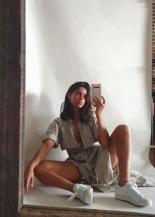Mimi Elashiry as seen in a selfie that was taken in October 2020