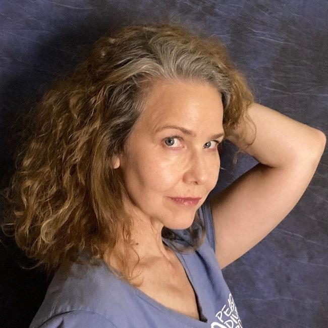 Molly Hagan as seen in July 2020