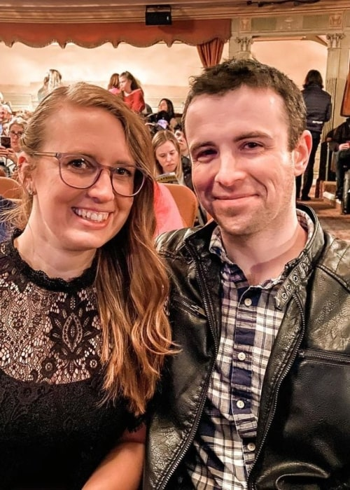 MrsDrLupo and DrLupo as seen in a picture that was taken in March 2020