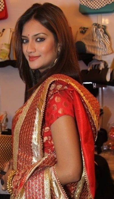 Nusrat Jahan as seen at FIERAA, a fashion and lifestyle exhibition, held at Sapphire Banquet 2, Calcutta in October 2013