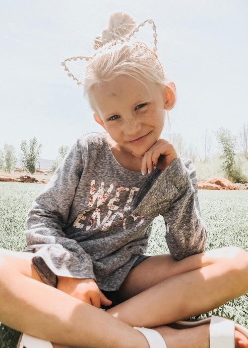 PresLee Grace Nelson as seen in a picture that was taken in April 2019