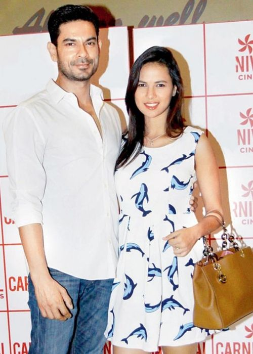 Rochelle Rao and Keith Sequeira as seen together in 2015