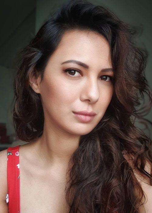 Rochelle Rao as seen in an Instagram selfie in December 2020