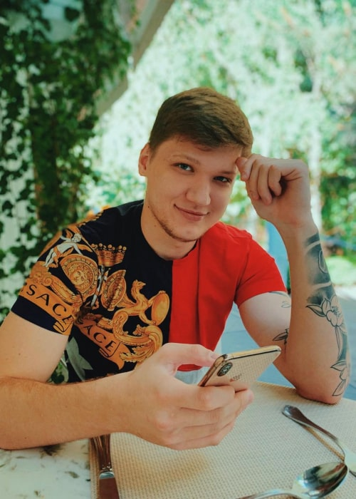 S1mple as seen in an Instagram Post in June 2019