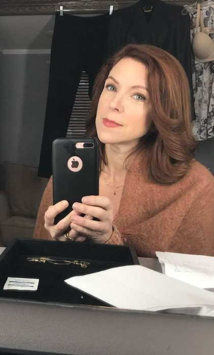 Sabrina Grdevich as seen while taking a selfie in an Instagram post in March 2021