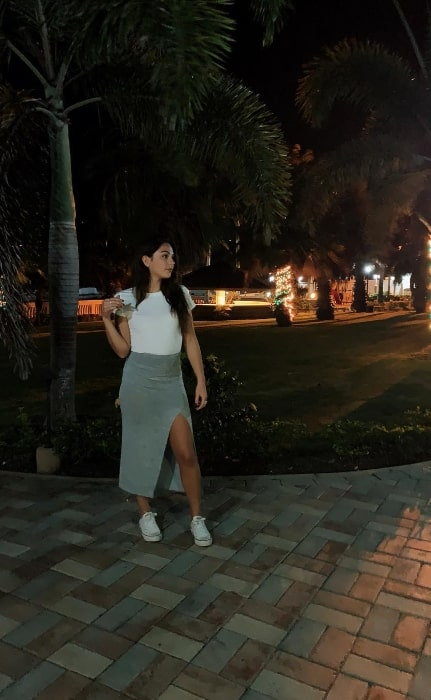 Samantha Grecchi at the Marina Village Condo Resort