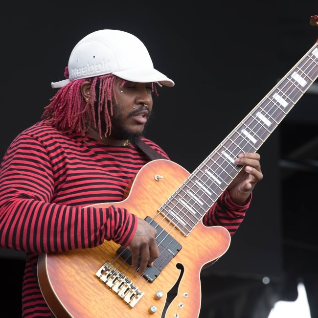 Thundercat as seen in a picture that was taken at the Sydney City Limits 2018, February 24