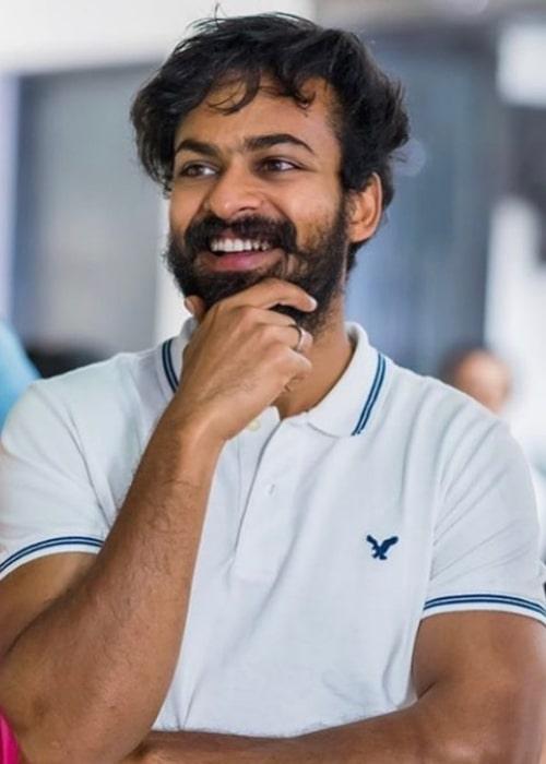 Vaishnav Tej in October 2020