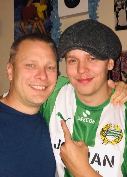 Valter Skarsgård (Right) and Stefan Billborn in October 2019