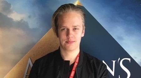 Valter Skarsgård Height, Weight, Age, Body Statistics
