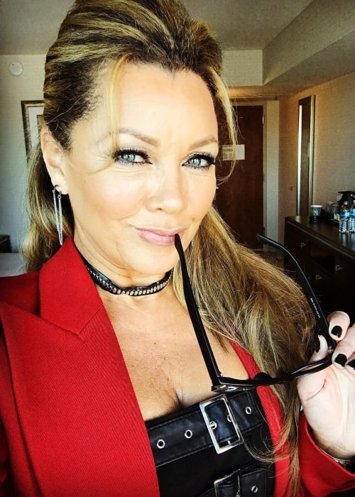 Vanessa L. Williams in an Instagram selfie from January 2021