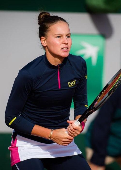 Veronika Kudermetova as seen in an Instagram Post in October 2020
