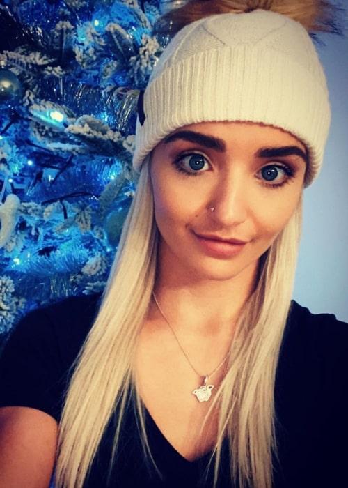 Xia Brookside as seen in a selfie that was taken in December 2020
