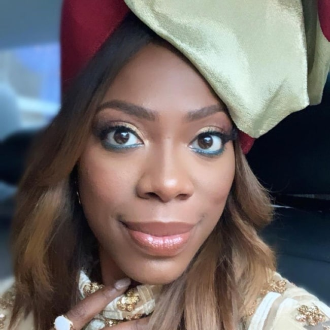Yvonne Orji in October 2019 declaring herself to be proudly Nigerian