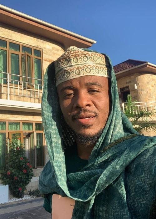Ali Kiba as seen in a selfie that was taken in May 2020