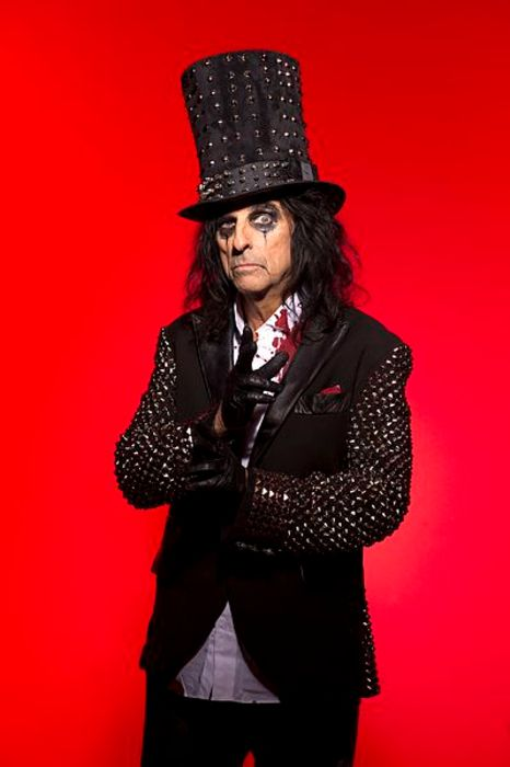 Alice Cooper as seen posing for a picture in 2011