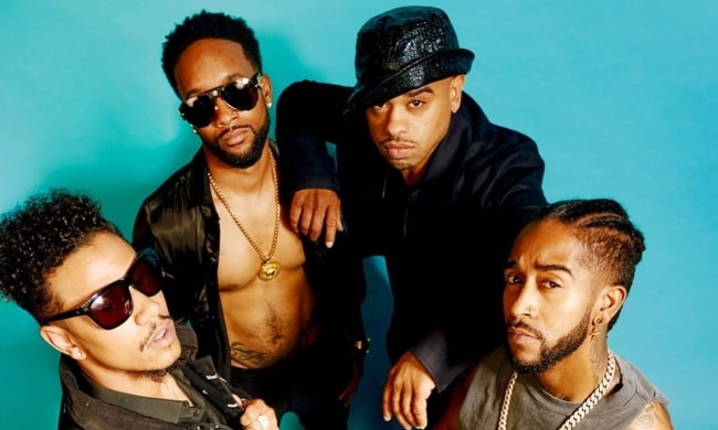 B2K (Band) as seen in a picture that was taken for Vibe Magazine in April 2021