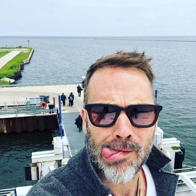 Barry Watson as seen on a ferry trip in 2019
