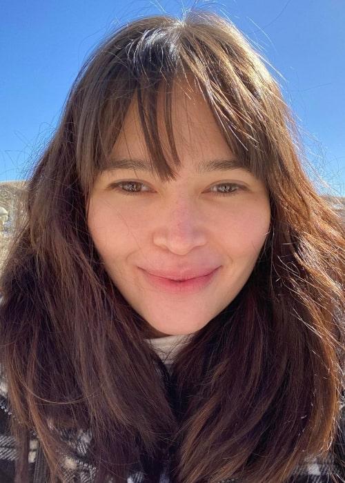 Bela Padilla as seen in a selfie that was taken in Love Valley, Capadoccia, Turkey in February 2021