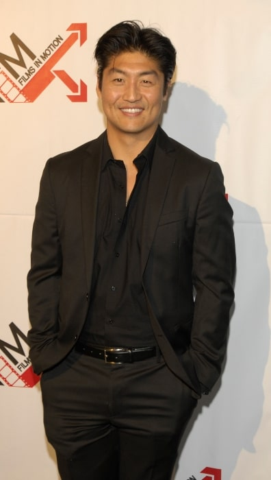 Brian Tee pictured at the premiere of 'Blood Out' in April 2011